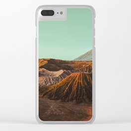 Bromo volcano, Indonesia Clear iPhone Case