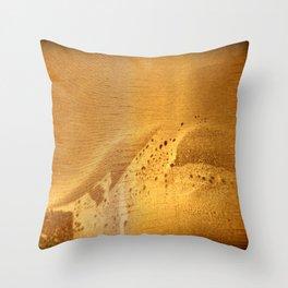 Ahoy! Sea Monster on Port Side! | Nadia Bonello Throw Pillow