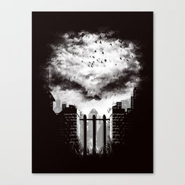 War Zone Canvas Print
