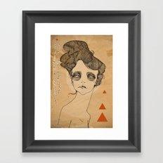 JULES Framed Art Print