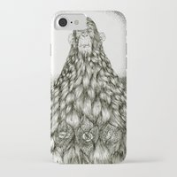 monkey iPhone & iPod Cases featuring Monkey by Tapioles II