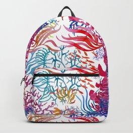 Seaweeds pattern Backpack