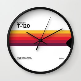 VHS Generation - Be kind and rewind Wall Clock