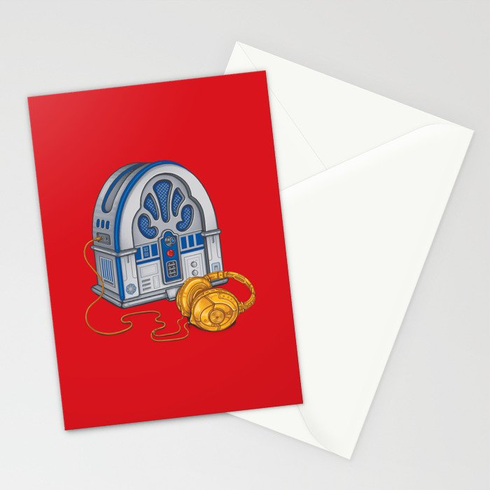 Beats by Droid - Recycled Future Stationery Cards