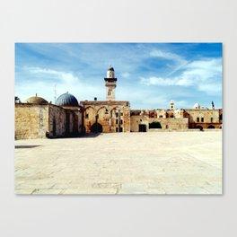 Temple Mount, Old City of Jerusalem Canvas Print