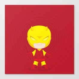 Daredevil Yellow Canvas Print