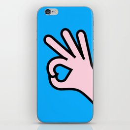 Right Person iPhone Skin