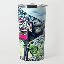 Mexican Burro Travel Mug