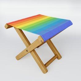 Solid Rainbow Folding Stool