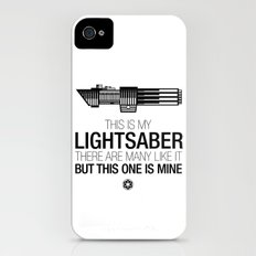 This is my Lightsaber (Vader Version) iPhone (4, 4s) Slim Case