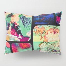 Textured Collage Pillow Sham
