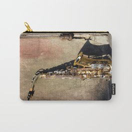 New Orleans French Quarter Saxophone Carry-All Pouch