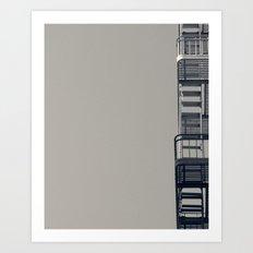 Exit Calls Art Print