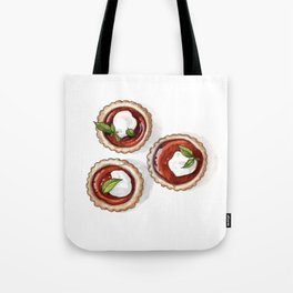 Desserts: Quince Tarts Tote Bag