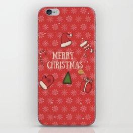 New Year, Cristmas, winter holidays iPhone Skin