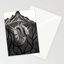 The Heart of the Mountain. Stationery Cards