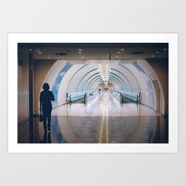 Departure Art Print