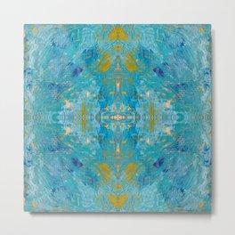 Saint Ives Blue Metal Print