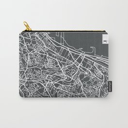 Algiers Algeria Map in Retro Style. Carry-All Pouch
