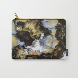 Black Marble III Carry-All Pouch