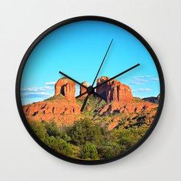 Cathedral Rock Sedona Arizona Wall Clock