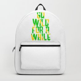 Go wild! Backpack