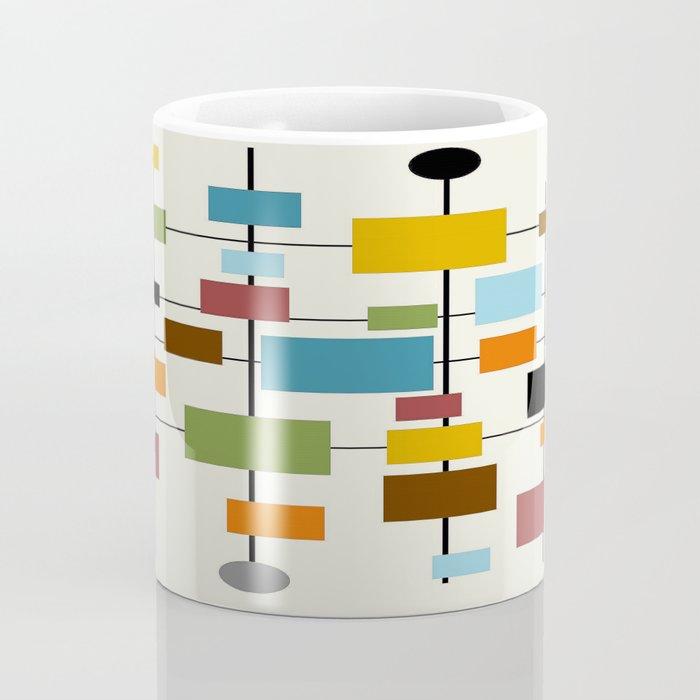 Mid-Century Modern Art 1.3 Kaffeebecher