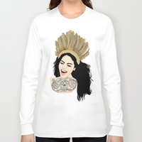 india Long Sleeve T-shirts featuring India by ElodieD