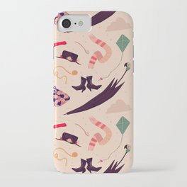 Practically Perfect Pattern iPhone Case