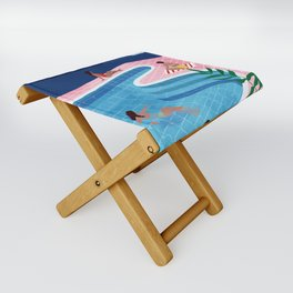 Pool ladies Folding Stool