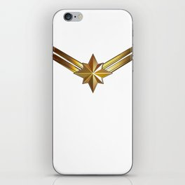 Captainmarvel iPhone Skin