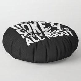 The Hokey Cokey Floor Pillow