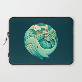 Into the Ocean Laptop Sleeve