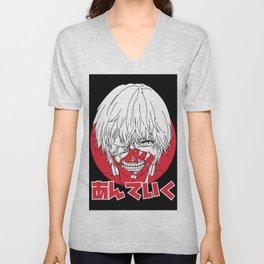 Kaneki Ghoul Unisex V-Neck