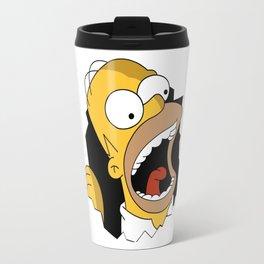 Homer Simpson PNG Travel Mug