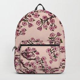 Sakura Branch Watercolor Backpack