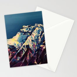 Lake Minnewanka Sunrise Stationery Cards