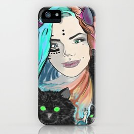 Aphrodite Hathor iPhone Case