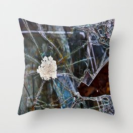 Shattered Dreams Throw Pillow