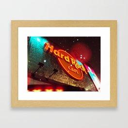 Hard Rock Hollywood Blvd Framed Art Print
