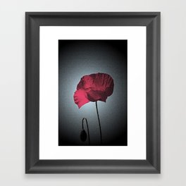 Dark Remembrance Framed Art Print