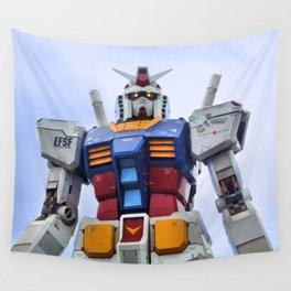 Gundam Stare Wall Tapestry