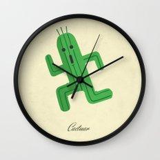 Cactuar Wall Clock
