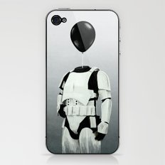 The Stormtrooper - #2 in the Balloon Head Series iPhone & iPod Skin