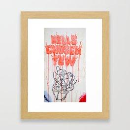 Hell's Chosen Few Framed Art Print