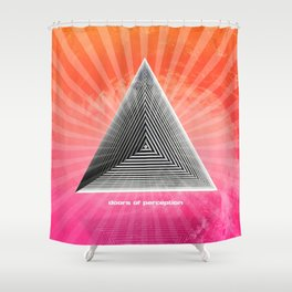 Doors of perception series 1 Shower Curtain