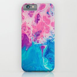 Ink Pour iPhone Case