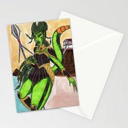 Medusas Beach Stationery Cards
