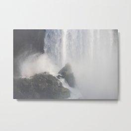 Waterfall Landscape Photography | Niagara Falls Canada Metal Print