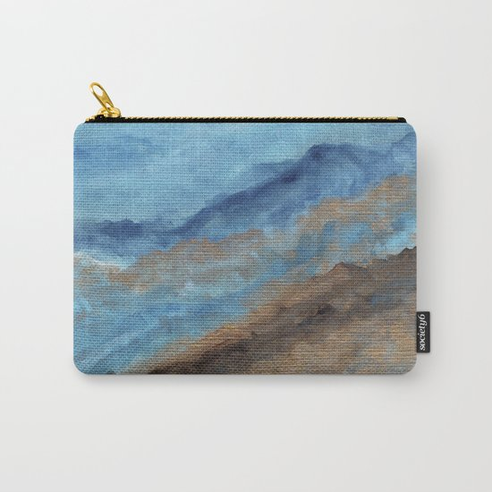 Watercolor abstract landscape 20 Carry-All Pouch